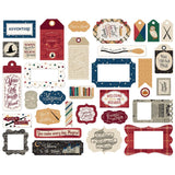 Frames and Tags Die Cuts-Echo Park Witches and Wizards