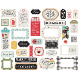 Frames and Tags Die Cuts-Echo Park Farmhouse Kitchen