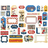 Frames and Tags Die Cuts-Carta Bella Baseball