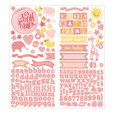Accent & Alpha Stickers-Studio Calico-Story Time Girl