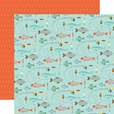 Go See Fish 12x12 Paper-Echo Park Summer Adventure