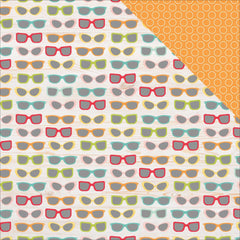 Gotta Wear Shades 12x12 Paper-Simple Stories Summer Days