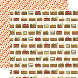 Harvest Crates 12x12 Paper-Carta Bella Fall Market