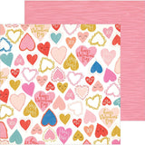 Heartbeat 12x12 Paper-Crate Paper LaLaLove