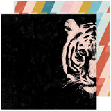 Hey, Tiger 12x12 Paper-Heidi Swapp Old School