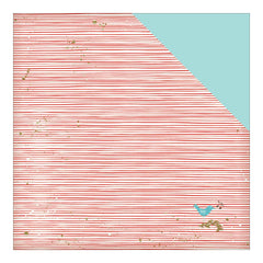 Holiday Stripes 12x12 Paper Fancy Pants Wish Season