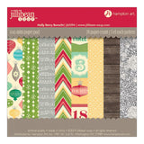 Holly Berry Borscht 6x6 Paper Pad Jillibean Soup
