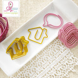 Houses & Bubbles Paper Clips-Webster's Pages-Sweet Routine