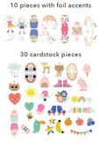 Icons Ephemera Die Cuts-Pebbles Live Life Happy 923