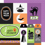 Jeepers Creepers 12x12 Paper-American Crafts Halloween