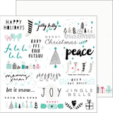 Jolly Holly 12x12 Paper-Pinkfresh Studio Christmas Wishes