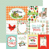 Journaling Cards 12x12 Paper-Carta Bella Farm To Table