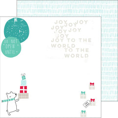 Joy To The World 12x12 Paper-Pinkfresh Studio Christmas Wishes