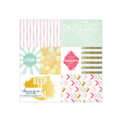 Keep It Real 12x12 Vellum-Webster's Pages-Allison Kreft-#HAPPY