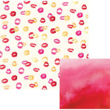 Kiss Kiss 12x12 Paper We R Memory Keepers Urban Chic