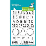 Celebration Countdown Clear Stamps-Lawn Fawn