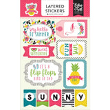 Summer Fun Layered Stickers-Echo Park