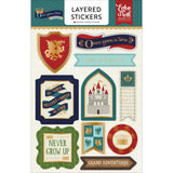Layered Stickers-Echo Park Once Upon A Time Prince