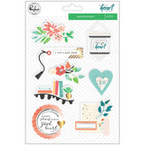 Layered Stickers Let Your Heart Decide-Pinkfresh Studio