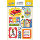 Toy Box Layered Stickers-Carta Bella