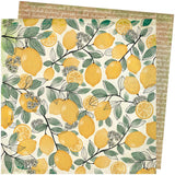 Lemon Spritz 12x12 Paper-Vicki Boutin Wildflower & Honey