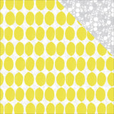 Lemonade 12x12 Paper-Pink Paislee Citrus Bliss