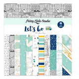 Let's Go 6x6 Paper Pack-Pretty Little Studio