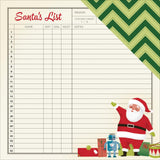List 12x12 Paper-Shimelle Christmas Magic