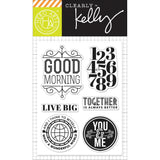 Live Big Clear Stamps-Kelly Purkey Hero Arts