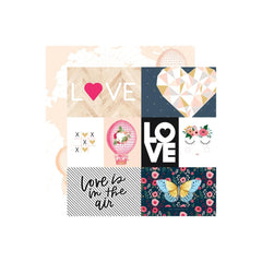 Love Is In The Air 12x12 Paper-Webster's Pages-Love Is In The Air