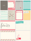 Journaling Tags-Elle's Studio Love You More Journal Cards