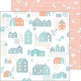 Lovely Home 12x12 Paper-Pinkfresh Studio Felicity