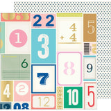 Lucky Numbers 12x12 Specialty Paper-Maggie Holmes Sunny Days