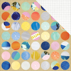 Magnify 12x12 Paper-Amy Tangerine Finders Keepers