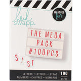 Red Alphabet & Numbers Mega Pack-Heidi Swapp Lightbox