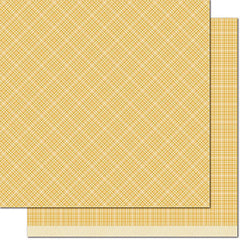 Mellow Yellow 12x12 Paper-Lawn Fawn Perfectly Plaid Chill
