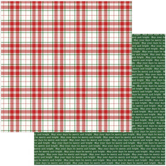 Merry 12x12 Paper Photo Play Mad 4 Plaid Christmas