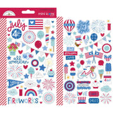 Mini Icons Stickers-Doodlebug Land That I Love