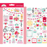 Mini Icons Stickers Love Notes-Doodlebug