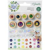 Mini Embellishments-Never Grow Up-Shimelle