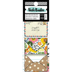 Mini Envelopes and Cards-Let's Wander-Vicki Boutin