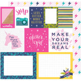 Mix & Match 12x12 Paper-Shimelle Glitter Girl