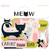 Meow Mixed Bag Die Cuts-My Mind's Eye