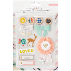 Mixed Embellishments-Crate Paper Maggie Holmes Gather