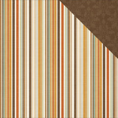 Multi Stripe 12x12 Paper Photo Play Autumn Day
