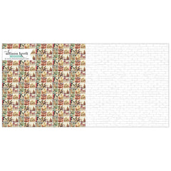 North Pole 12x12 Double Sided Paper-Webster's Pages-Alison Kreft-It's Christmas
