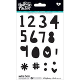 Homespun Numbers & Extras Clear Stamps-Bella Blvd Illustrated Faith