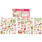 Odds & Ends Die Cuts-Christmas Magic-Doodlebug