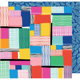 Patchwork 12x12 Paper-Amy Tangerine On A Whim