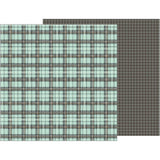 Perfect Plaid 12x12 Paper-Pebbles Jen Hadfield Simple Life